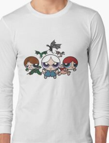 Ice and Fire Girls Long Sleeve T-Shirt