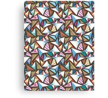 abstract pattern with origami  Canvas Print