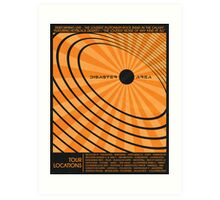 Disaster Area Band Poster Art Print