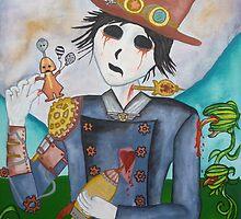 Surrealism - Undead Steampunk boy by Wintersheart