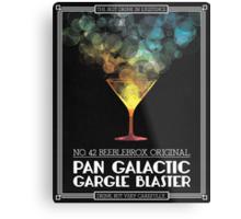 Pan-Galactic Gargle Blaster Poster Metal Print