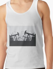 Oil extracting Tank Top