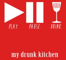 play. pause. drink by megzerlita