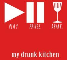 play. pause. drink by megzerlita