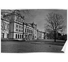 Main Building, Cardiff University Poster