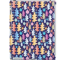 Autumnal pattern with leaves  iPad Case/Skin