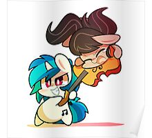 Octavia and Vinyl Scratch  Poster