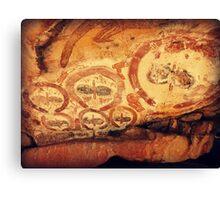 Ancient faces Canvas Print
