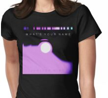 JUPITER NINE [what's your name] Womens Fitted T-Shirt