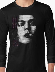 Him Valo Razorblade Tee OPTIMIZED FOR BLACK SHIRTS Long Sleeve T-Shirt