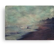Searching the Sands Canvas Print