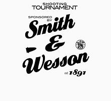 smith and wesson Women's Fitted V-Neck T-Shirt