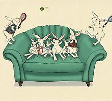 armchair tennis  by vian
