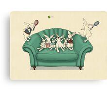 armchair tennis  Canvas Print
