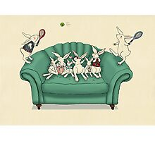 armchair tennis  Photographic Print