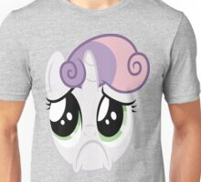 Sweetie Belle Sad Unisex T-Shirt
