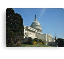 Capital Building Canvas Print