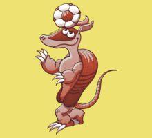 Nice armadillo balancing a soccer ball on its head Baby Tee