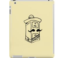 Cabinet Sanchez (Black) iPad Case/Skin