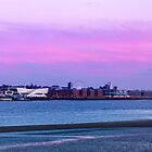 Liverpool Skyline along the river by Paul Madden
