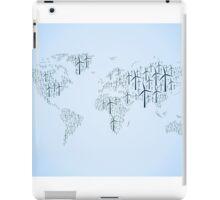Wind energy map iPad Case/Skin