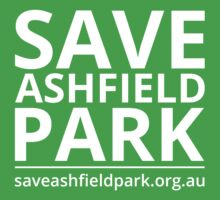 Save Ashfield Park Kids Tee
