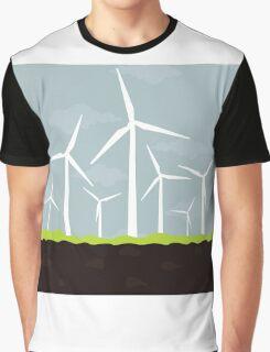 Wind power Graphic T-Shirt