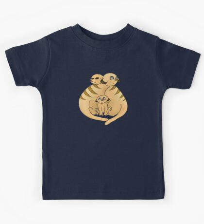 Group of Meerkats Kids Tee