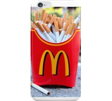 Smoked Fries iPhone Case/Skin