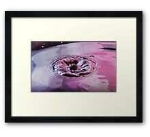 water flower By Ken Killeen Framed Print
