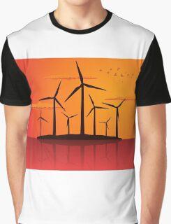 Wind power2 Graphic T-Shirt