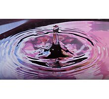 hydrophobic finger By Ken Killeen Photographic Print