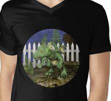 Little Dragon Mens V-Neck T-Shirt