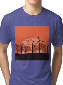 Wind power3 Tri-blend T-Shirt