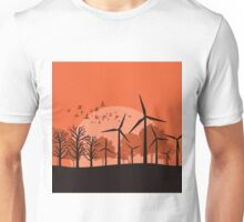 Wind power3 Unisex T-Shirt