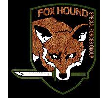 Fox hound logo 2.01 (fox pattern) Photographic Print
