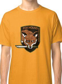 Fox hound logo 2.01 (fox pattern) Classic T-Shirt
