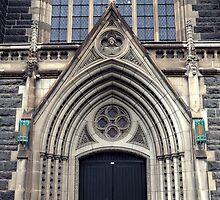 Gothic Doorway by Karen E Camilleri