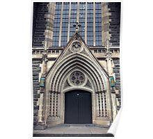 Gothic Doorway Poster