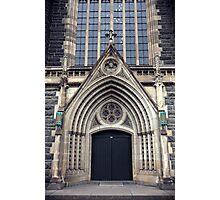 Gothic Doorway Photographic Print