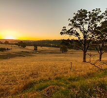 Sundown at the Peninsula, Bridgetown, Western Australia #2 by Elaine Teague