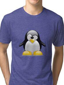 Tux penguin Tri-blend T-Shirt