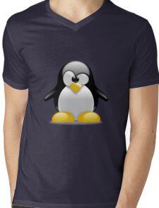 Tux penguin Mens V-Neck T-Shirt