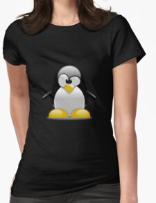Tux penguin Womens Fitted T-Shirt