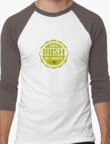 Irish by choice Men's Baseball ¾ T-Shirt