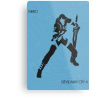 Nero Metal Print