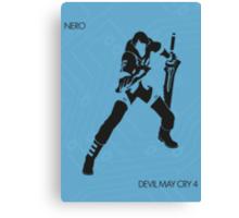 Nero Canvas Print