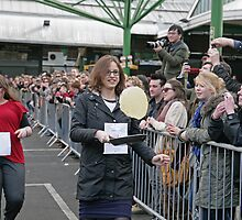 Better Bankside Pancake Day Race at Borough Market London by Keith Larby