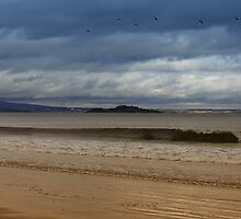 Portobello Beach in Edinburgh by Miles Gray