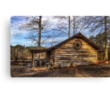 Log Cabin @ Yates Mill Canvas Print